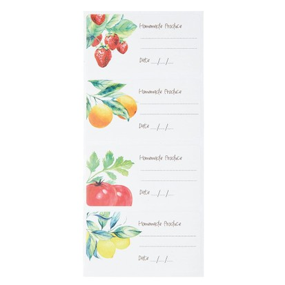 KitchenCraft vintage jam jar labels, jam making kits