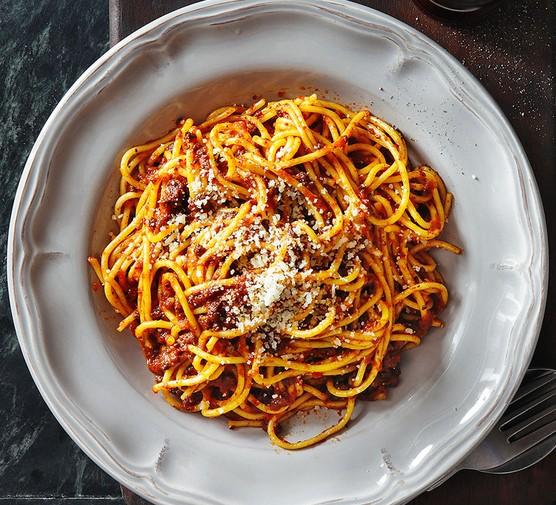 Mutant Spaghetti Bolognese Recipe Bbc Good Food