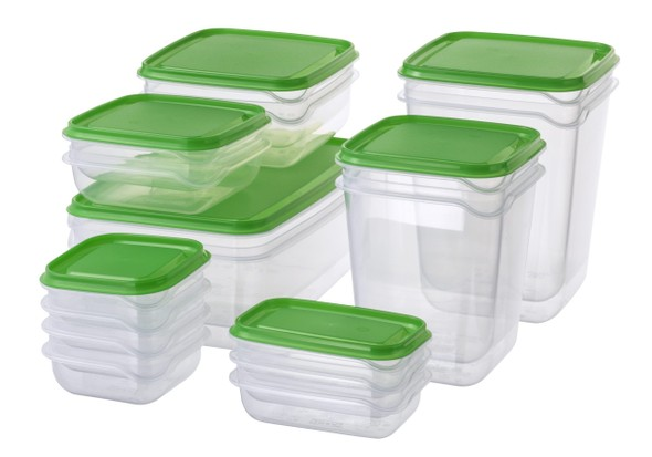 Ikea PRUTA tupperware containers, best food storage containers, best tupperware