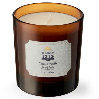 Rabot 1745 Cacao & Vanilla Candle, best chocolate gifts