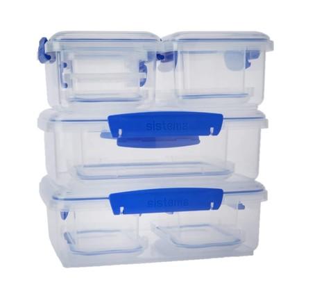 Sistema Klip It food storage containers, best tupperware, food storage containers
