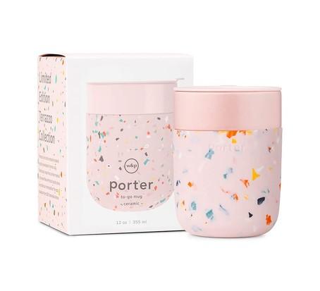 W&P Terrazzo Porter Travel Mug, best chocolate gifts