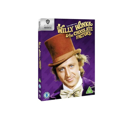 Willie Wonka and the Chocolate Factory DVD, best chocolate gifts