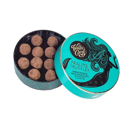 Willie's Cacao Praline Truffles, best chocolate gifts