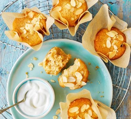 Amaretti muffins