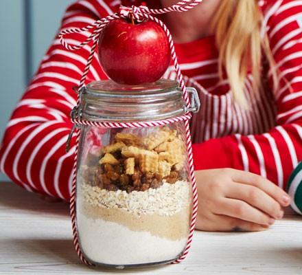 Apple pie cookie kit