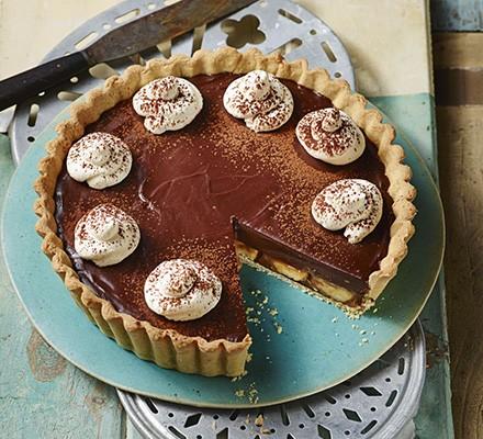 Grown-up banoffee pie