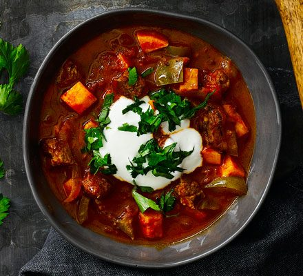 Beef Goulash Soup Recipe Bbc Good Food
