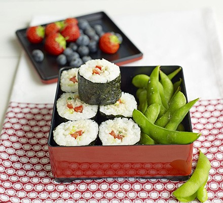 Japanese-style bento box