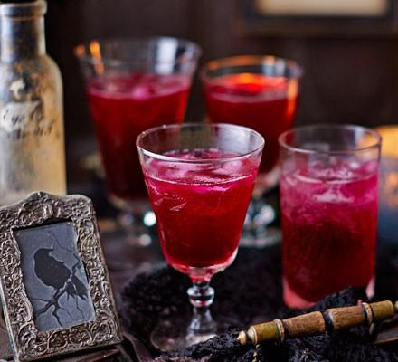 Blood beetroot cocktails 2016