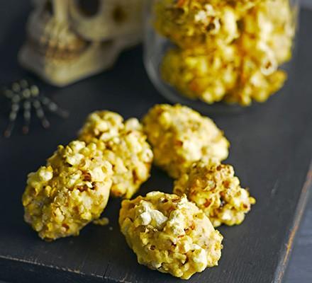 Cheesy popcorn brains