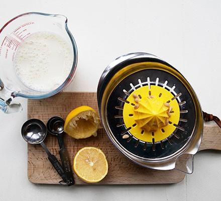 Homemade buttermilk ingredients