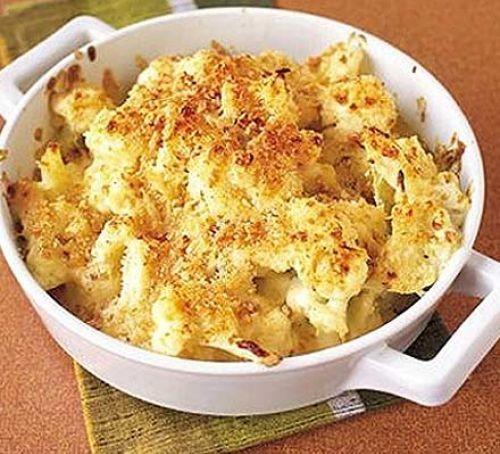 Cauliflower cheese recipes: Crunchy cauliflower cheese