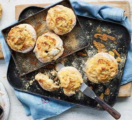 Cheese & Marmite scones