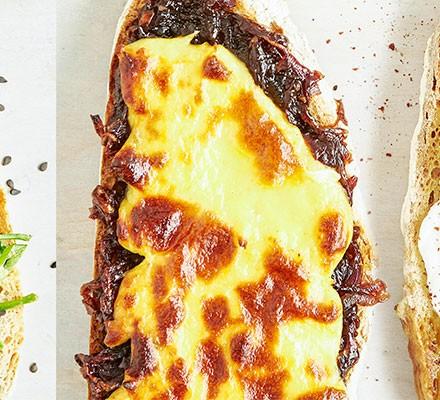 Cheese & onion toast