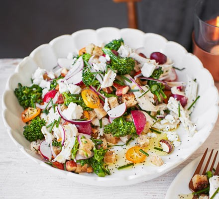 Chicken & kumquat salad 2016