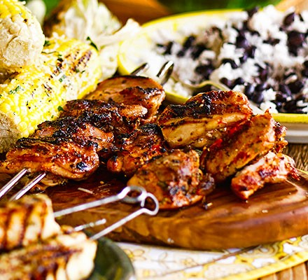 Frango churrasco (Grilled lemon & garlic chicken)