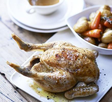 Really easy roast chicken