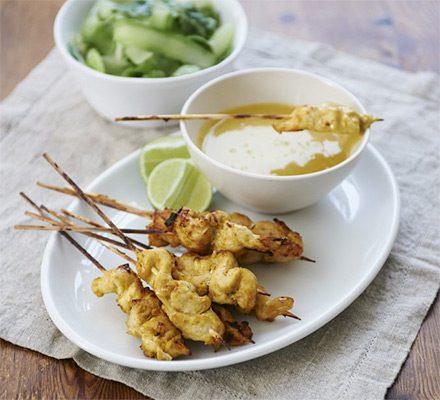 Chicken Satay Recipe Bbc Good Food