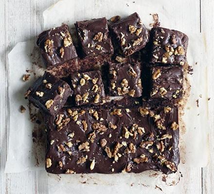 Fudgy chocolate squares