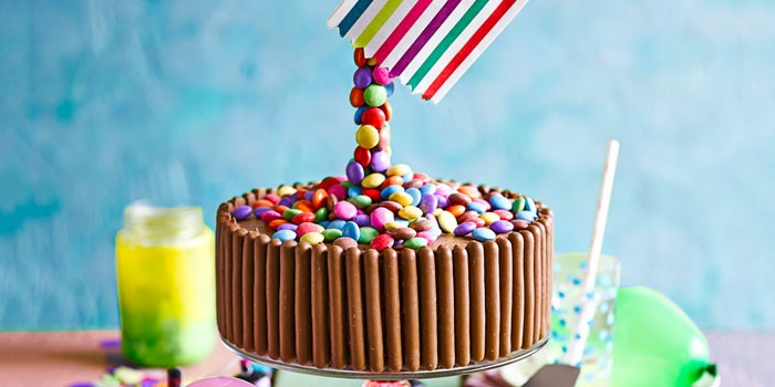 How To Make An Anti Gravity Cake Bbc Good Food