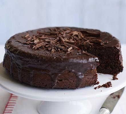 Eggless chocolate & beetroot blitz & bake cake