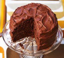 Easy Chocolate Fudge Cake Recipe Bbc Good Food