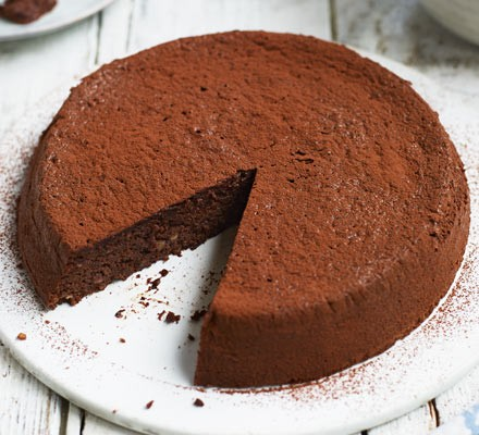 Chocolate, cardamom & hazelnut torte