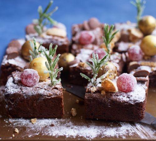 Christmas brownie recipes