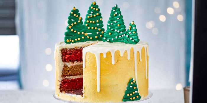 Christmas Cake Decorating Ideas Bbc Good Food