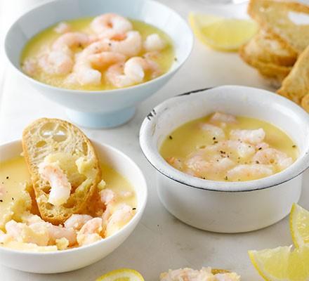 Classic potted shrimps