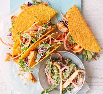 Chipotle cod tacos