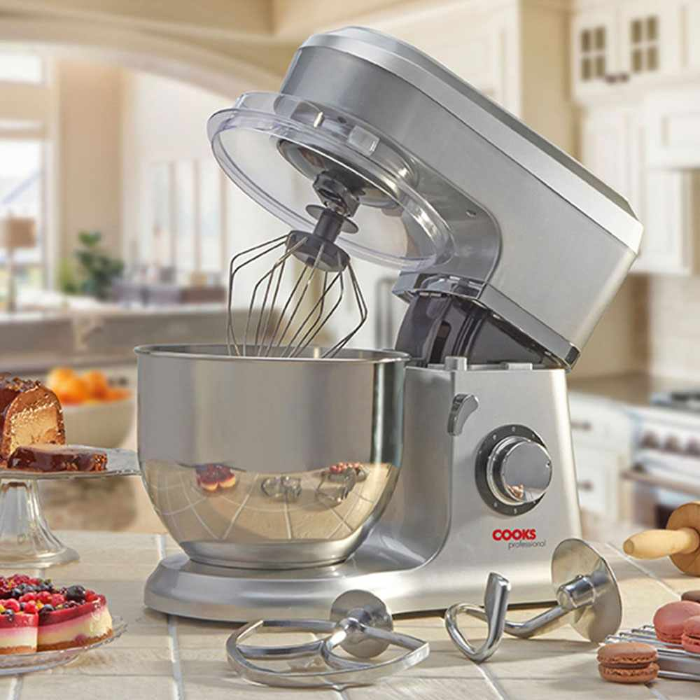 Cooks Professional stand mixer in a kitchen setting