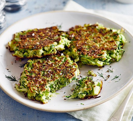 Green fritters