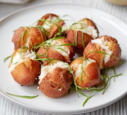 Crab doughnuts