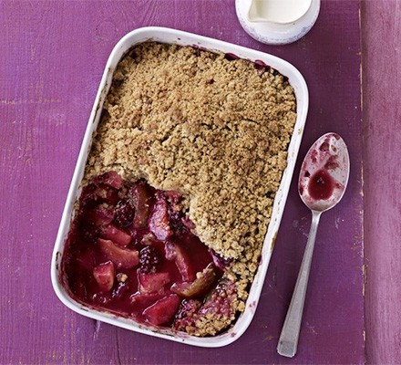 Orchard crumble