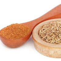Ground cumin and cumin seeds