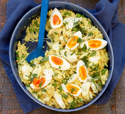 Curried haddock kedgeree 2016