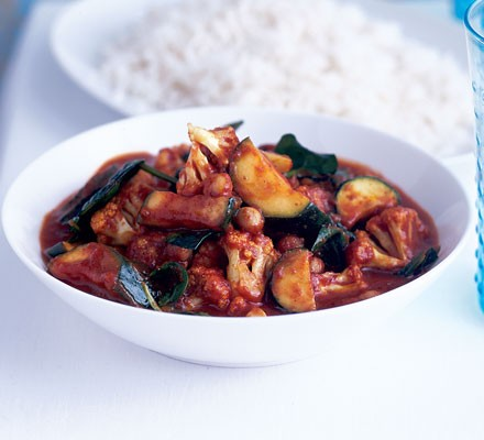 Sweet & hot vegetable curry