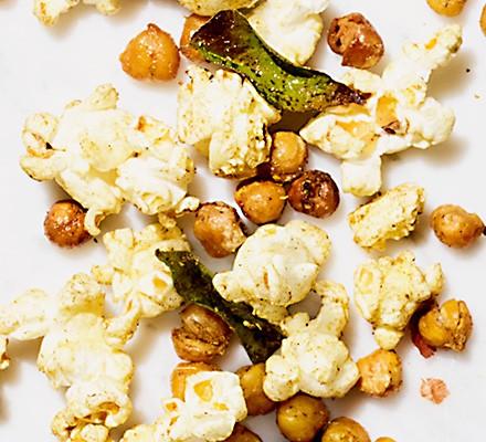 Curry leaf popcorn