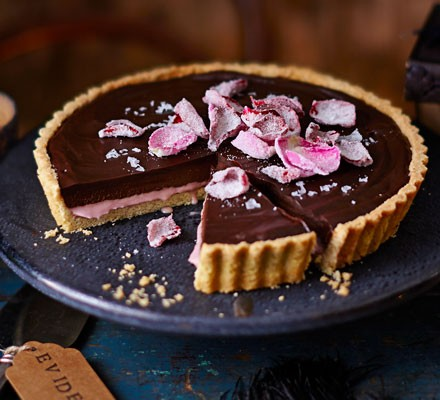 Death-by-chocolate tart 2016