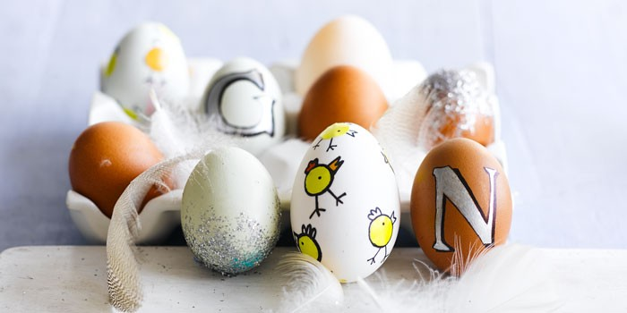 How To Make Decorated Eggs For Easter Bbc Good Food