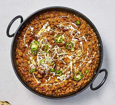 Next level dhal makhani served in a wok