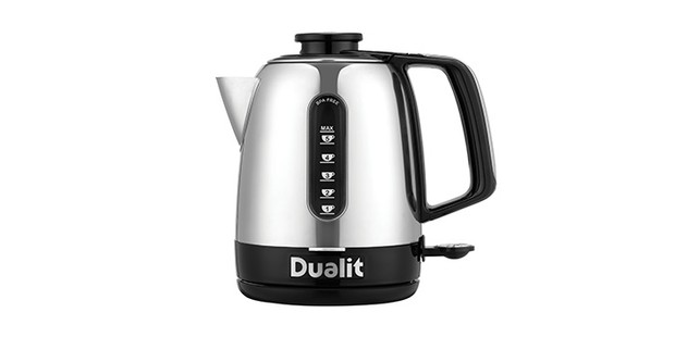 Dualit Domus kettle on a white background