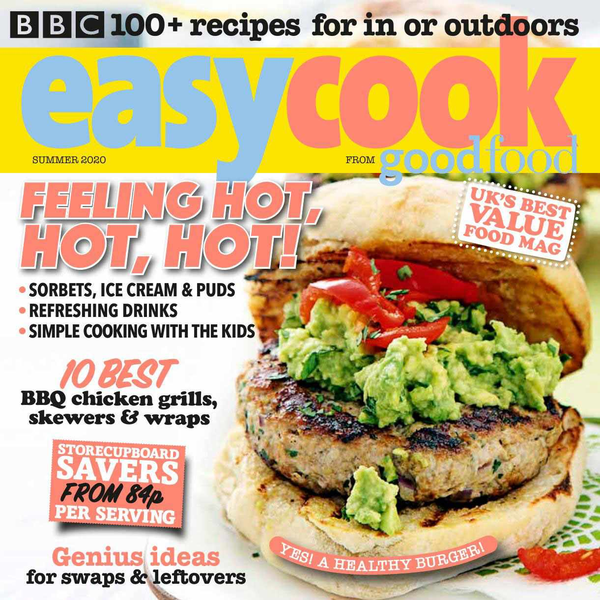 Easy Cook magazine cover summer 2020