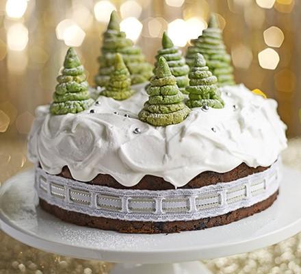 Christmas Cake Decoration Recipes Bbc Good Food