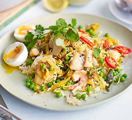 Feed-a-crowd kedgeree biryani