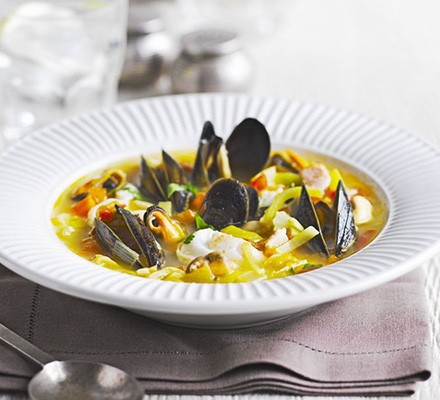French country fish & mussel stew