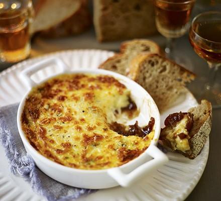 Melty cheese fondue pot