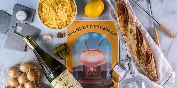 Cheesebar fondue kit